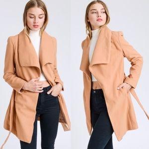 MIA Long Coat - CAMEL